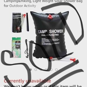 Other - ❌SOLD❌ Top Quality Camp Shower Bag 5 Gallon